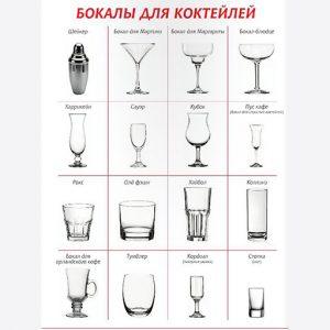 Посуда для коктейлей Glass